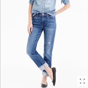 J.Crew Slim Broken In Boyfriend Jeans